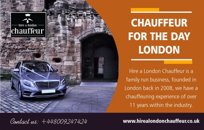 Chauffeur for the Day London