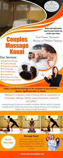 Couples Massage Kauai Hawaii