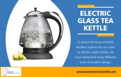 Electric Glass Tea Kettle