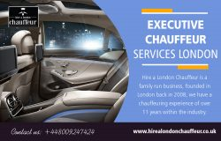 Executive Chauffeur Services London