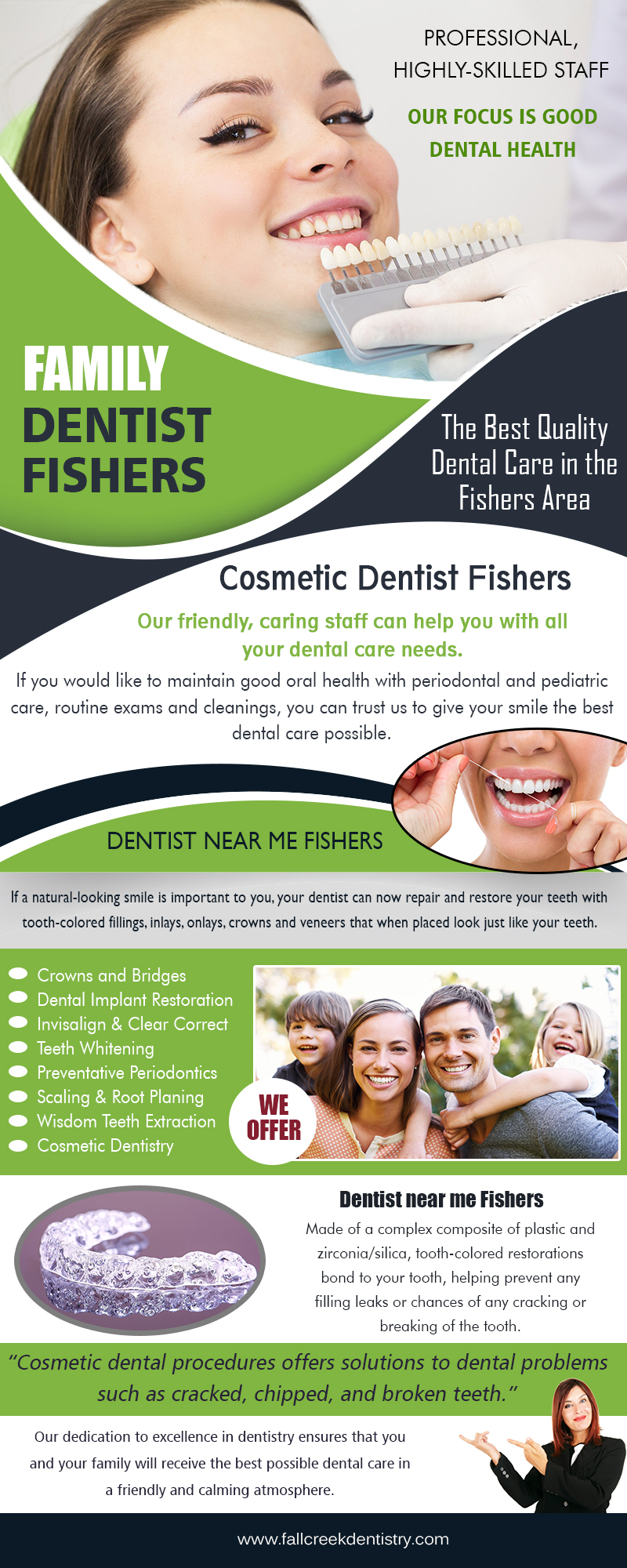 Family Teeth Dentist Fishers | 3175968000 | fallcreekdentistry.com