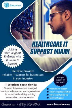 Healthcare IT Support Miami