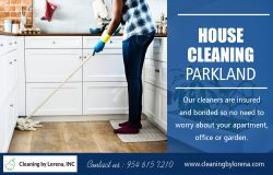 House Cleaning Parkland