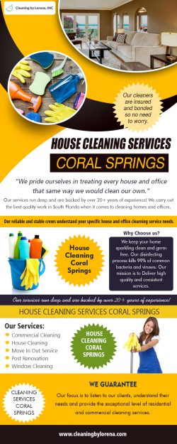House Cleaning Services Coral Springs