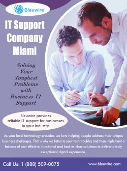 IT Support Company Miami