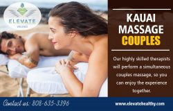 Kauai Massage Couples Hawaii