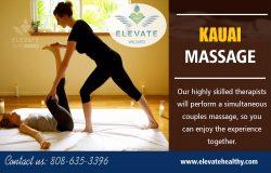Kauai Massage Hawaii