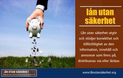 lån utan säkerhet