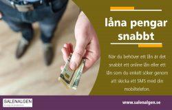 låna pengar snabbt