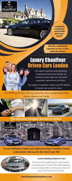 Luxury Chauffeur Driven Cars London