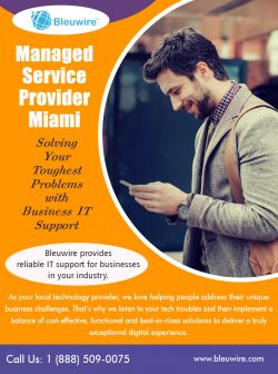 Managed Service Provider Miami
