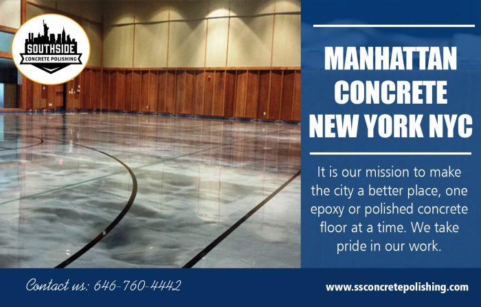 Manhattan Concrete New York NYC