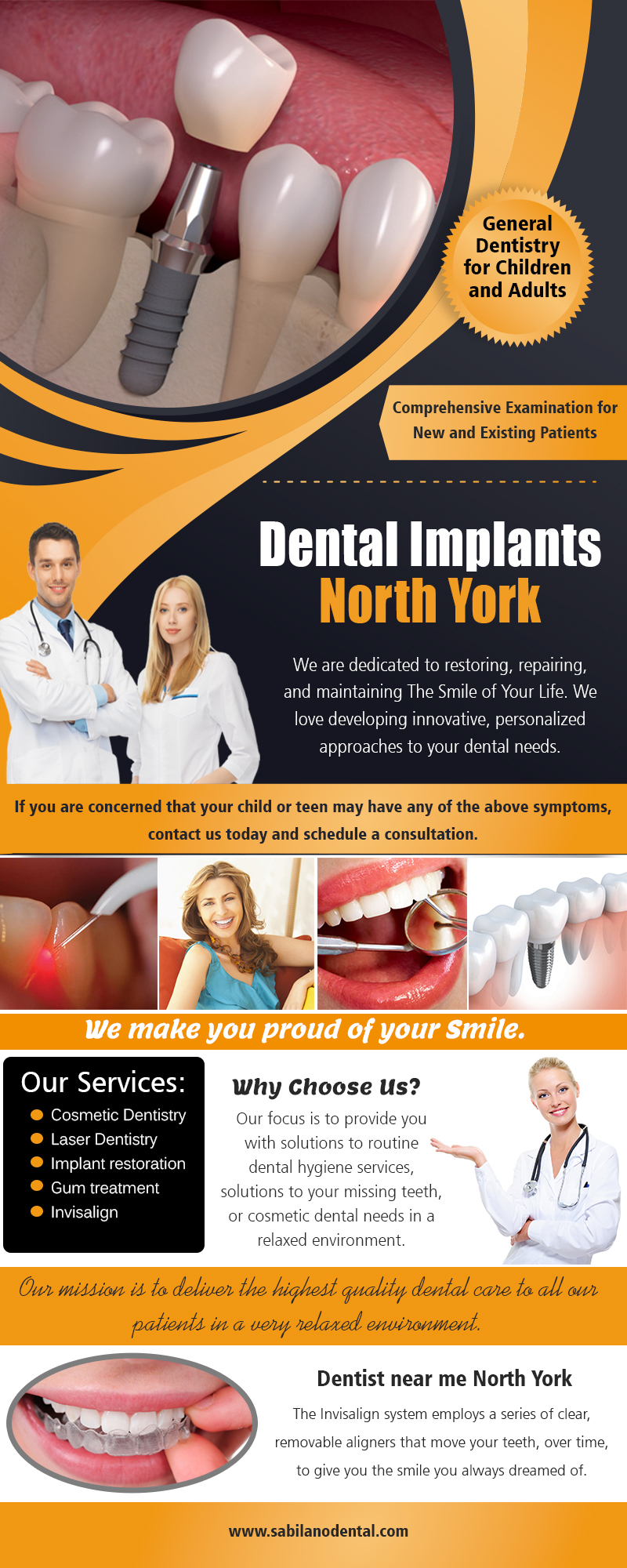 North York Dentist | Call – 14166310224 | sabilanodental.com