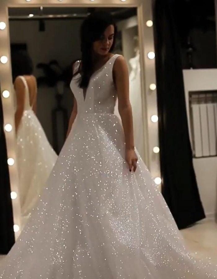 Elegante Abendkleider Lang Weiß Günstig | Abendkleid mit ...