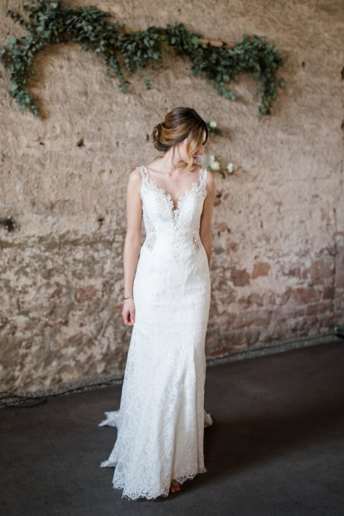 Elegante Brautkleider Meerjungfrau Schlicht | Spitze Hochzeitskleider