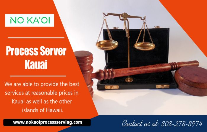 Process server Kauai