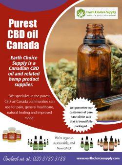 Purest CBD Oil Canada