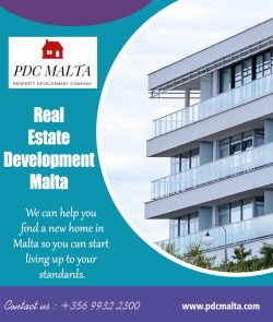 Real Estate Development Malta | Call – 356 9932 2300 | pdcmalta.com