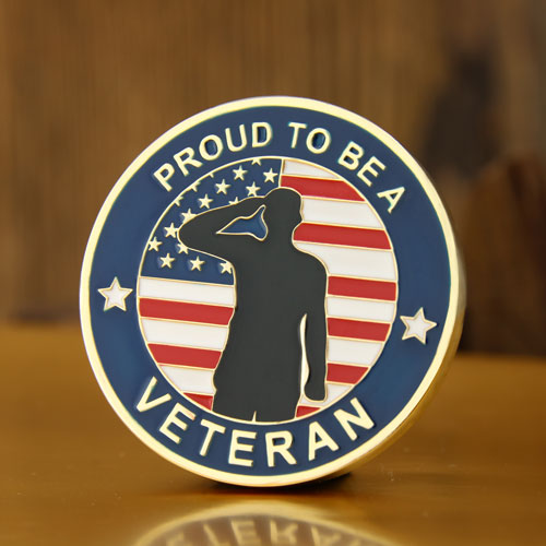 Cheap Challenge Coins | Veterans Day Custom Challenge Coins