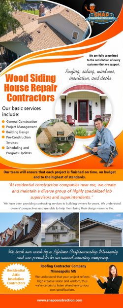 Wood Siding House Repair Contractors