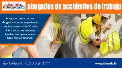 Abogados De Accidentes De Trabajo | Call – 213-320-0777 | abogado.la