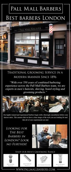Best Barbers London | Call – 020 73878887 | www.pallmallbarbers.com