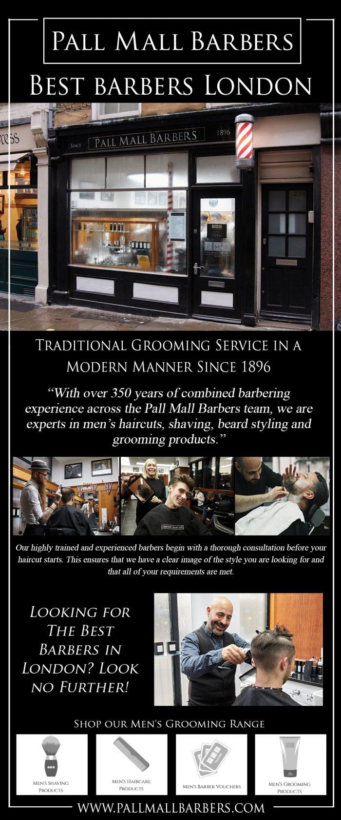 Best Barbers London | Call – 020 73878887 | www.pallmallbarbers.com