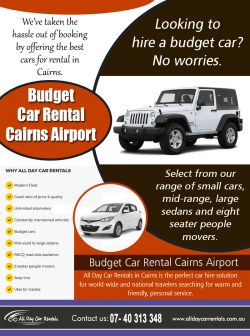 Budget Car Rental Cairns Airport