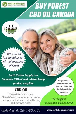 Buy Purest CBD Oil Canada | Call – 416-922-7238 | earthchoicesupply.com
