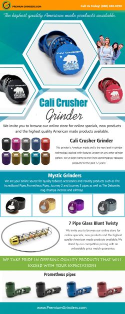 Cali Crusher Grinder | 18006309350 | premiumgrinders.com