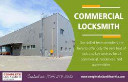 Commercial Locksmith | Call – 754-219-3632 | completelocksmithservice.com