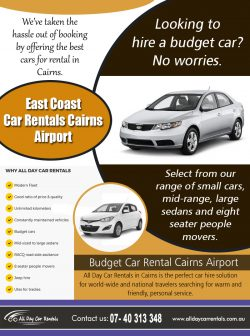 East Coast Car Rentals Cairns Airport