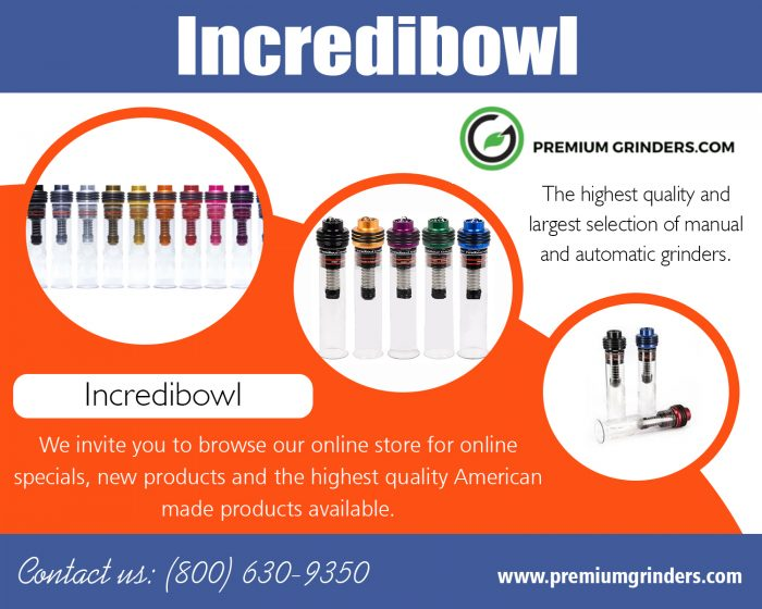 Incredibowl | 18006309350 | premiumgrinders.com
