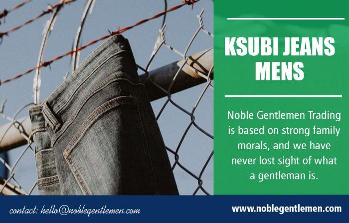 Ksubi Jeans Mens