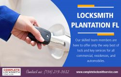 Locksmith Plantation FL | Call – 754-219-3632 | completelocksmithservice.com