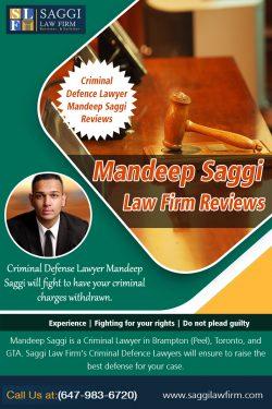Mandeep Saggi Law Firm Reviews