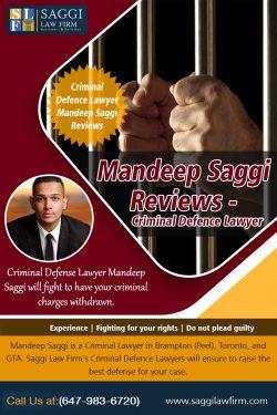 Mandeep Saggi Reviews – Criminal Defence Lawyer