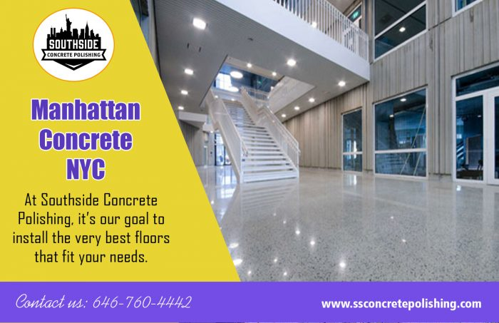 Manhattan Concrete NYC