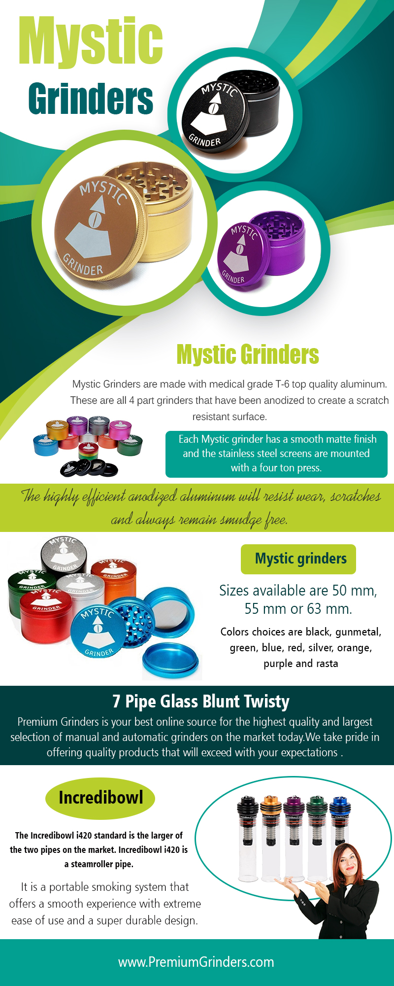 Mystic Grinders | 18006309350 | premiumgrinders.com