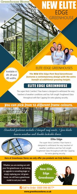 New Elite Edge Greenhouse