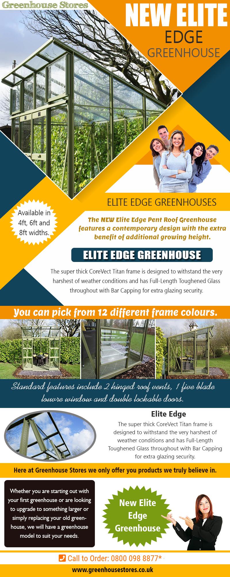 New Elite Edge Greenhouse