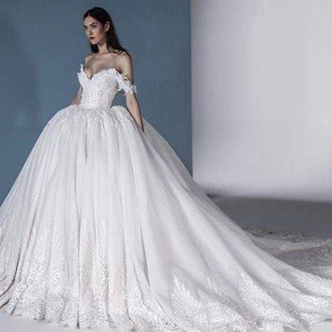 Luxus Brautkleider Online Günstige Hochzeitskleider mit Spitze