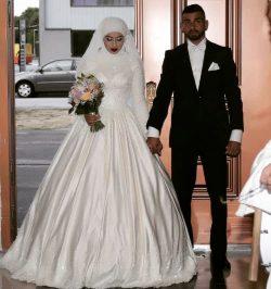 Designer A Linie Brautkleider Mit Spitze | Hochzeitskleider mit Ärmel