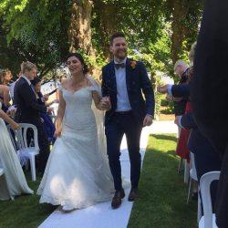Elegante Brautkleider Meerjungfrau | Weiße Spitze Hochzeitskleider Online