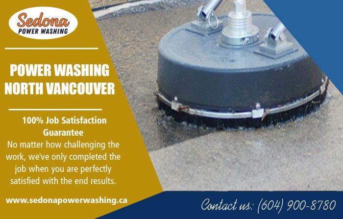 Power washing in north vancouver