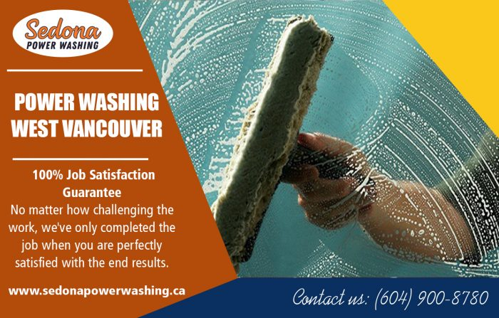 Power washing in west vancouver