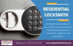 Residential Locksmith | Call – 754-219-3632 | completelocksmithservice.com
