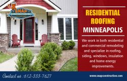 Residential Roofing Minneapolis | Call us 6123337627 | snapconstruction.com