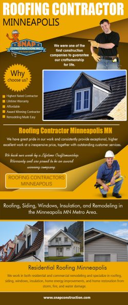 Roofing Contractor Minneapolis | Call us 6123337627 | snapconstruction.com