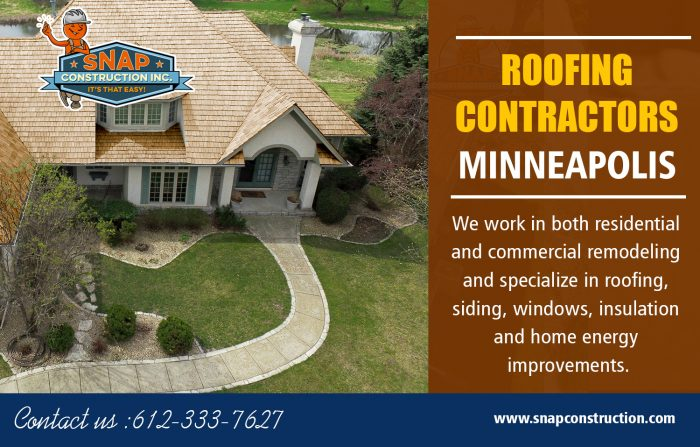 Roofing Contractors Minneapolis | Call us 6123337627 | snapconstruction.com